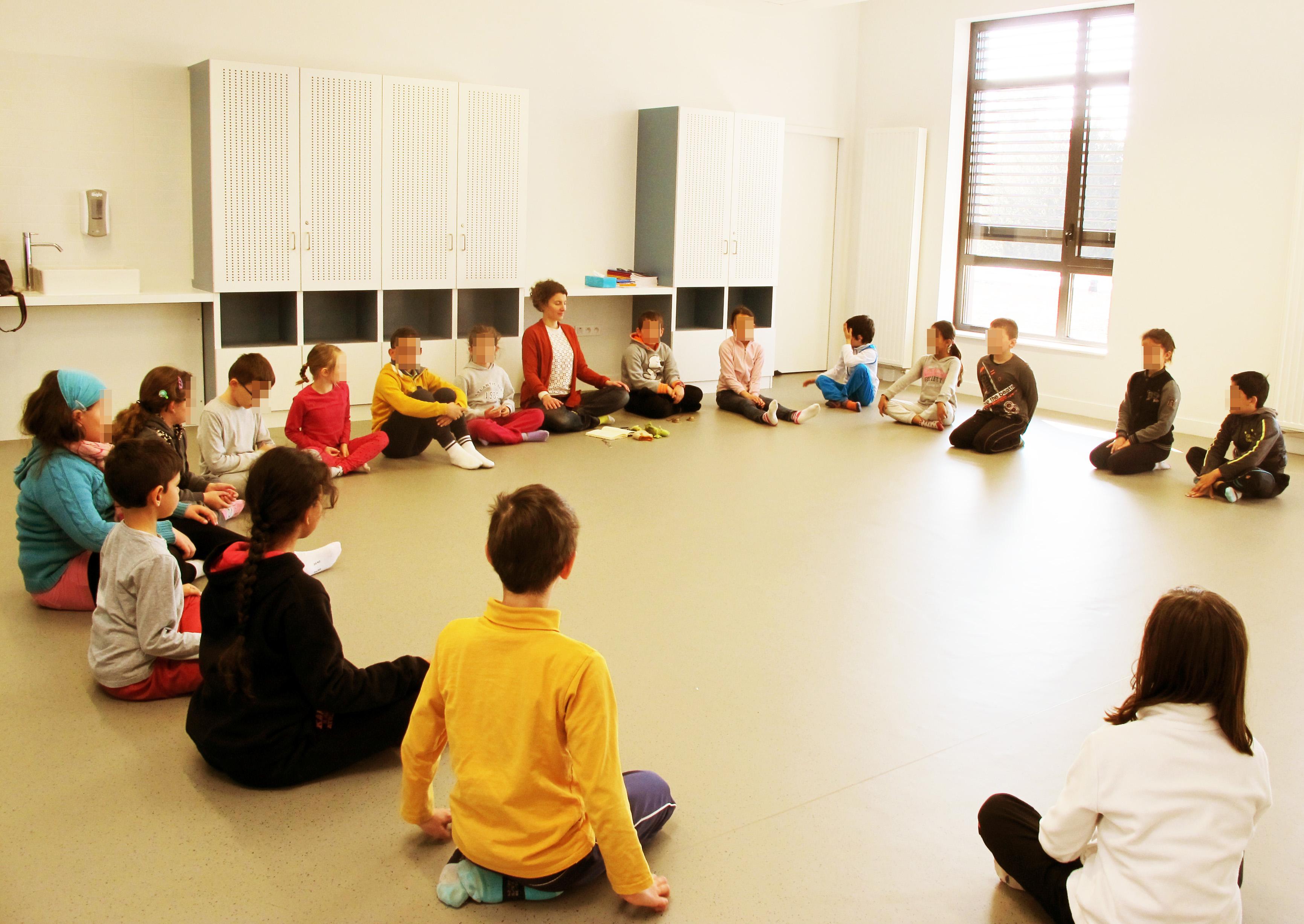 méditer en classe
